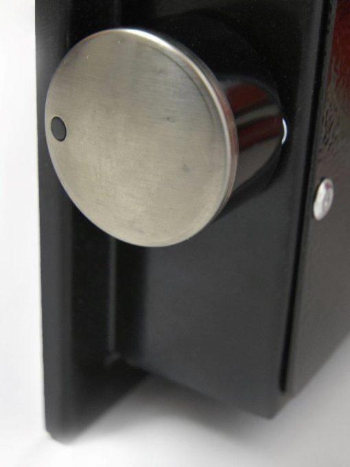 Hybridheizung Glas 900 Watt Schwarz 2.Wahl