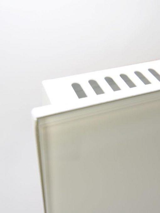 Hybridheizung Glas 600 Watt Weiß OOV