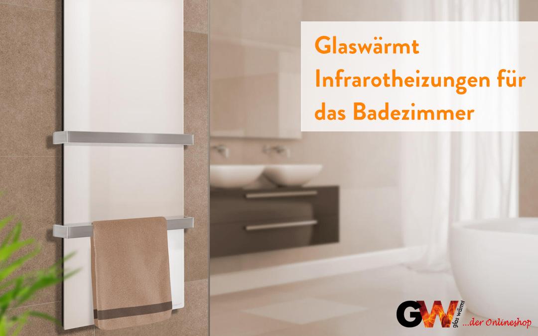 Glaswärmt Infrarotheizungen für das Badezimmer