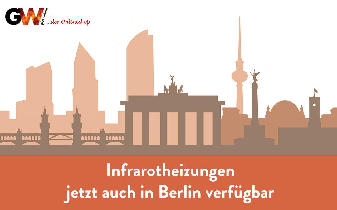 Jetzt auch in Berlin verfügbar