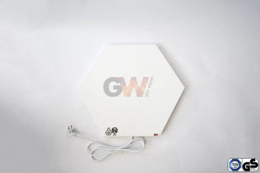Spezial-Infrarotheizung-Glaswärmt-IMP-Hexagon-90cm-Paneele-2