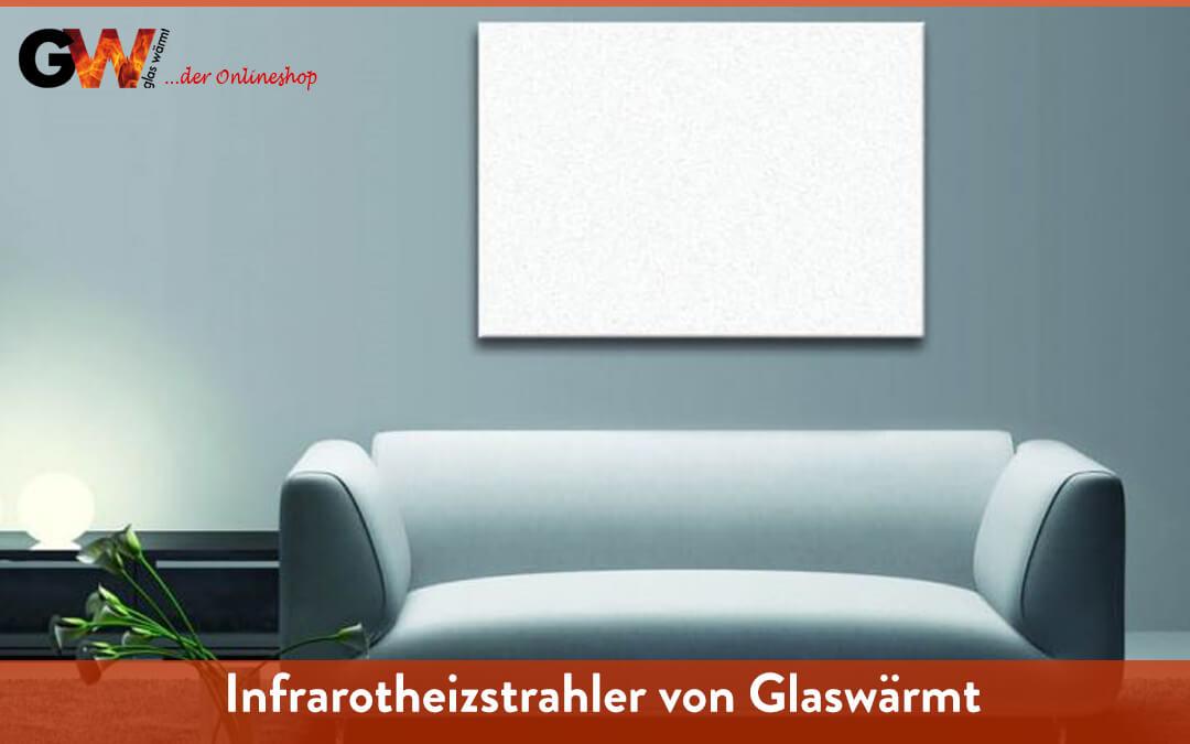 Infrarotheizstrahler Glaswärmt