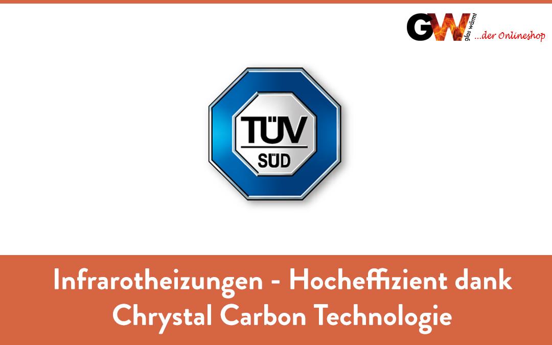 Infrarotheizungen – Hocheffizent dank Chrystal Carbon Technologie TÜV Zertifiziert