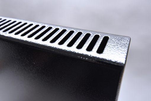 GlasWärmt-Infrarotheizung-Hybridboard-HB-schwarz-1400Watt-1400x600x40mm-Detailansicht-2