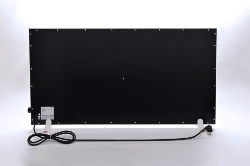 GlasWärmt-Infrarotheizung-Hybridboard-HB-schwarz-1400Watt-1400x600x40mm-Rückseite
