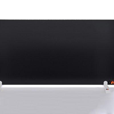 GlasWärmt-Infrarotheizung-Hybridboard-HB-schwarz-1400Watt-1400x600x40mm-Vorderseite