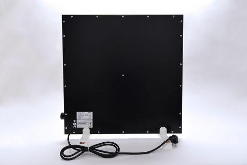 GlasWaermt-Infrarotheizung-Hybridboard-HB-schwarz-600Watt-600x600x40mm-Rueckseite