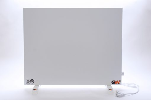 GlasWärmt-Infrarotheizung-Hybridboard-HB-weiß-1000Watt-1000x600x40mm-Vorderseite