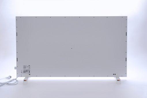 GlasWärmt-Infrarotheizung-Hybridboard-HB-weiß-1400Watt-1400x600x40mm-Rückseite