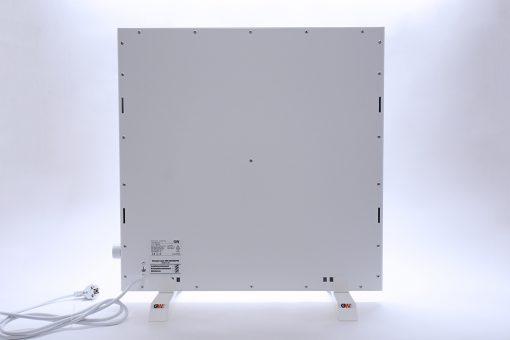 GlasWaermt-Infrarotheizung-Hybridboard-HB-weiss-600Watt-600x600x40mm-Rueckseite