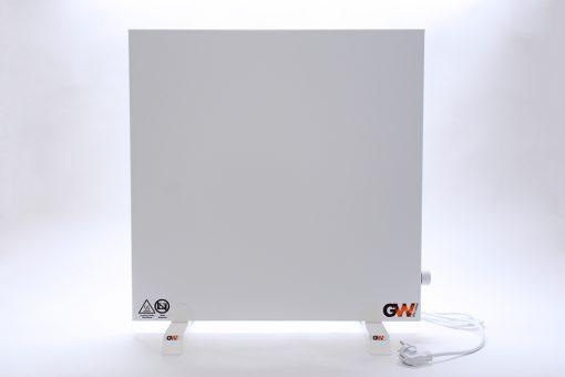 GlasWaermt-Infrarotheizung-Hybridboard-HB-weiss-600Watt-600x600x40mm-Vorderseite