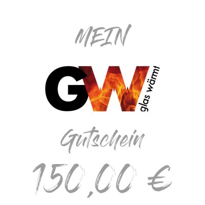 GlasWärmt Gutschein 150 Euro