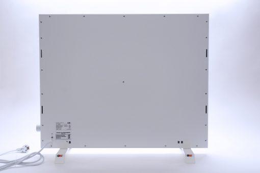 GlasWärmt-Infrarotheizung-Hybrid-weiß-1000Watt-1000x600x40mm-Light-Rückseite