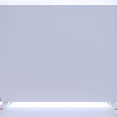 GlasWärmt-Infrarotheizung-Metall-IMP-weiß-700Watt-900x600x20mm-Vorderseite